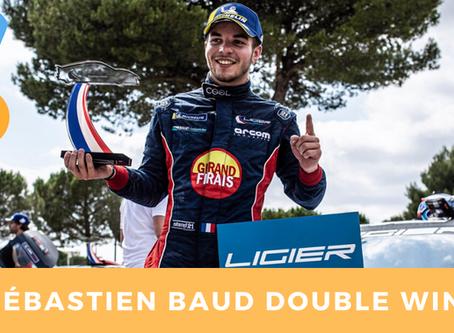 Sébastien Baud double win : European Ligier Series