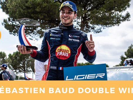 Sébastien Baud double win : European Ligier Series