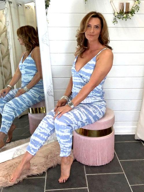 Jess tie-dye jumpsuit