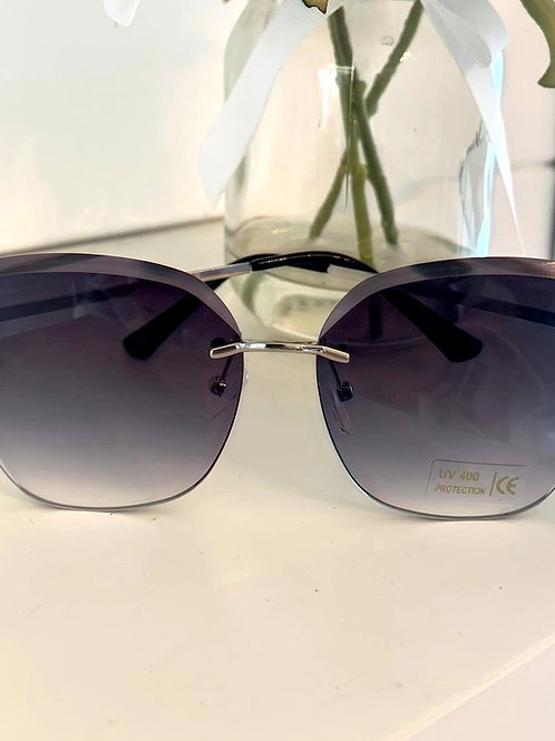 Bee Glasses with blue tint and silver arm