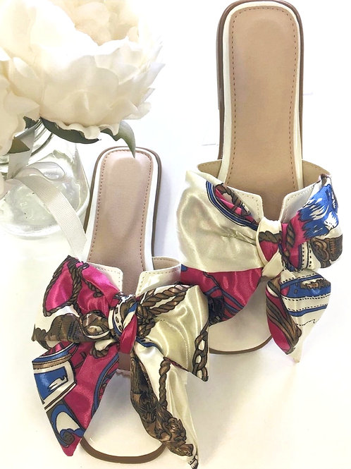Scarf Bow Slides