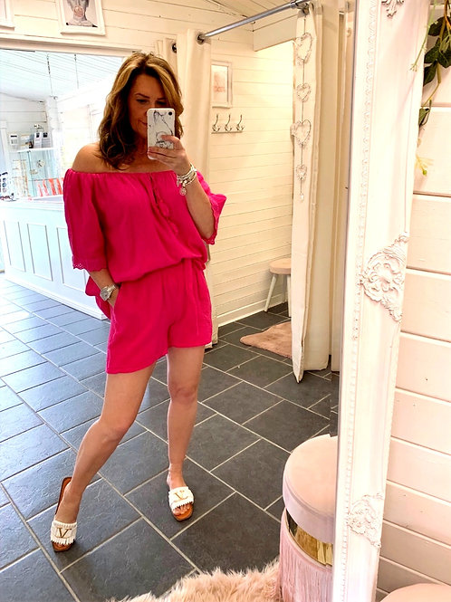 Corina pink shorts