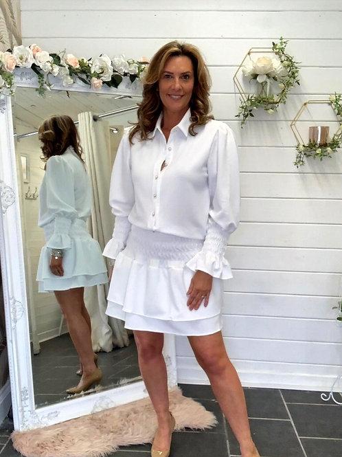 white fifi skirt