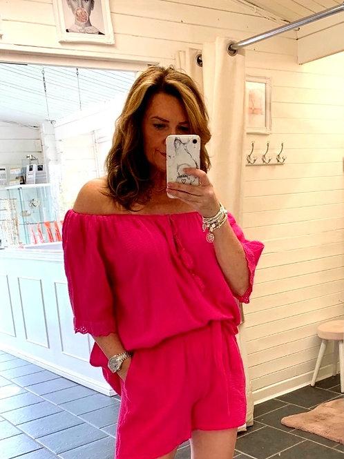 Corina Pink Top