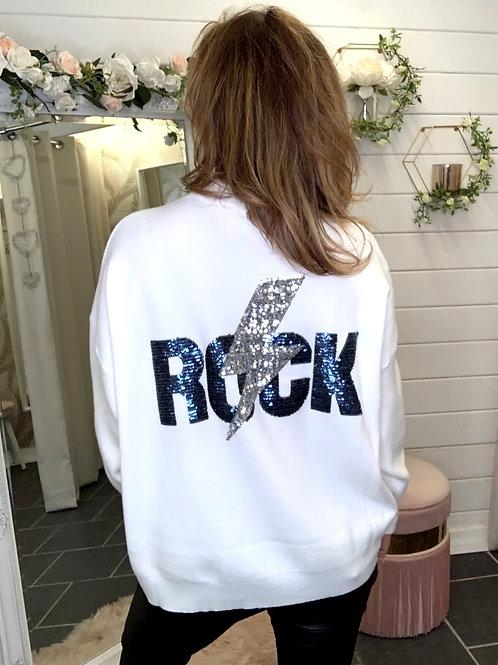 white rock jumper