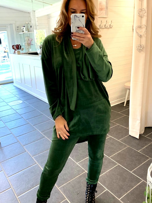 emerald velour  loungeset