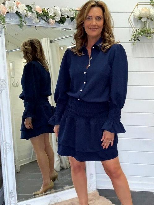 navy fifi skirt