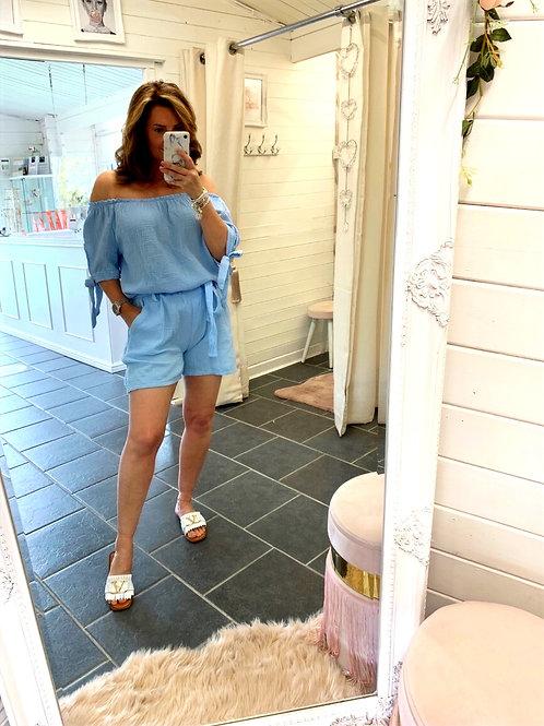 Carina  Blue Shorts
