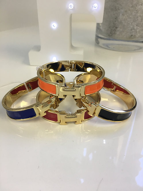 royal blue hermes inspired bangle