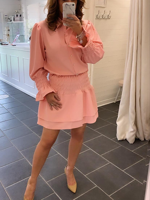 peach fifi skirt