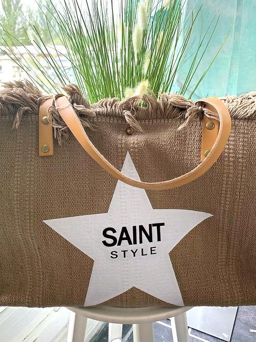 Taupe saint style Bag