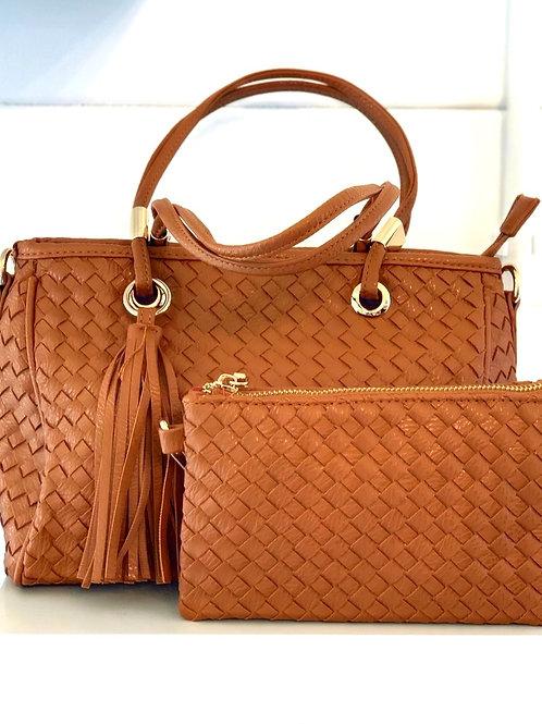 Tan bag set
