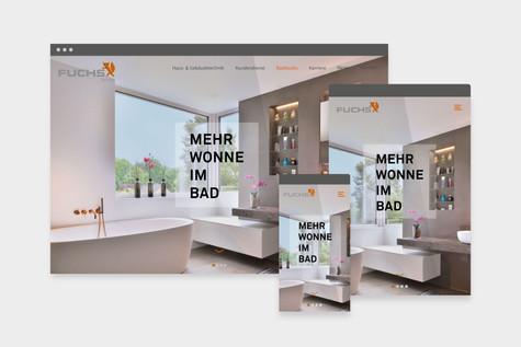 Fuchs GmbH Website