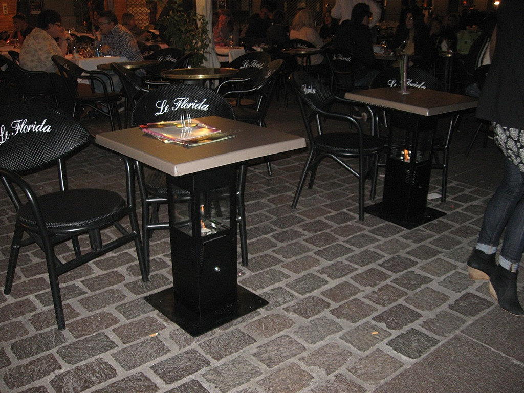 table chauffante bio tables bistrot plateau personnalis. Black Bedroom Furniture Sets. Home Design Ideas