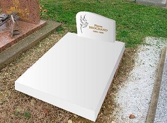 Création monument blanc pour enfant