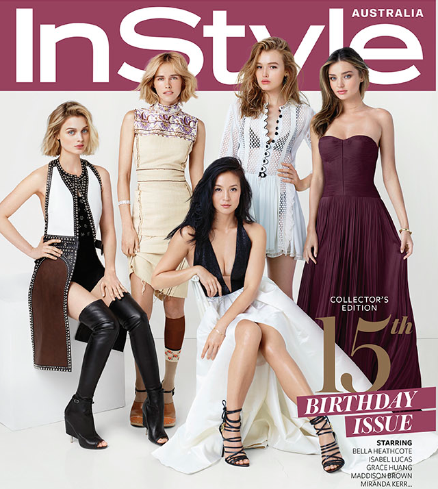 Cover InStyle Apr 2015 Australia