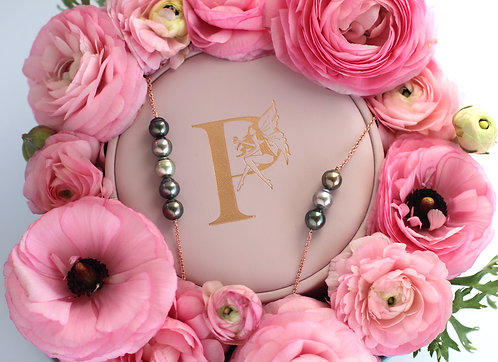 Pixie 3 Tahitian Pearl Necklace