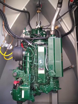 Beta Marine 43hp engine with PRM 150 gearbox