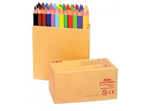 Krāsaino zīmuļu komplekts 60 gb. 17,5 cm NS1062