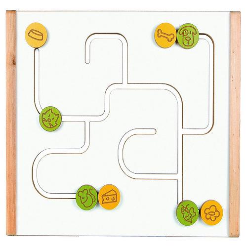 """Manipulācijas panelis """"Labirints"""" 45x50 cm NS3075"""