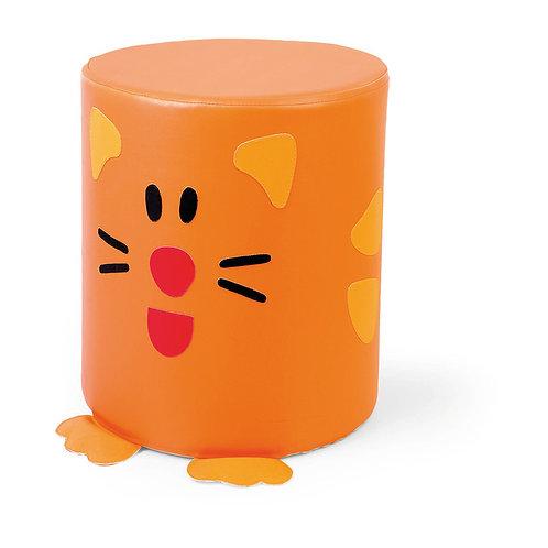 """Pufs - sēdeklītis """"Kaķis"""" Ø35cm x 30cm NS1976"""