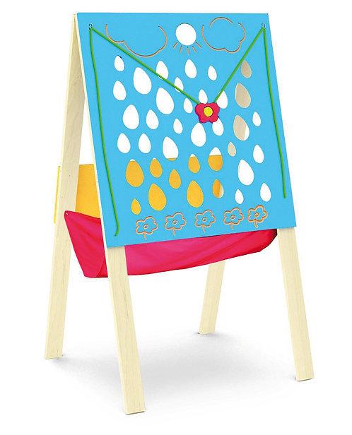 """Manipulatīvā tāfele uz statīva """"Lietus lāses"""""""