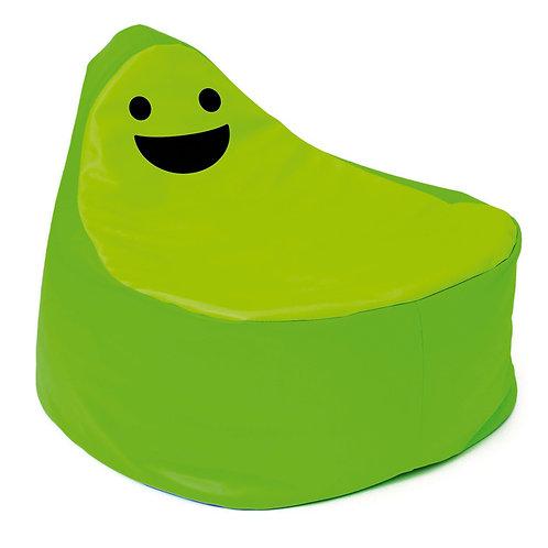 Smaidīgs sēžammaiss zaļš Ø 65cm x 63cm NS1890