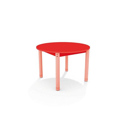 Apļveida galds ar krāsainu virsmu - 4 krāsas