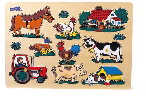 """Puzle """"Lauksaimniecība"""" 1767"""