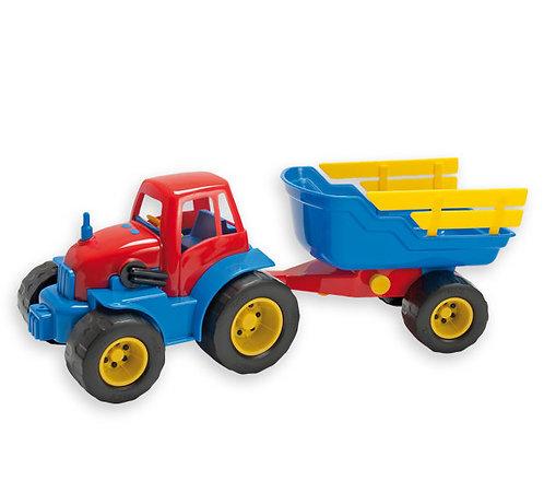 Traktors ar piekabi 42x15x16cm DK2135