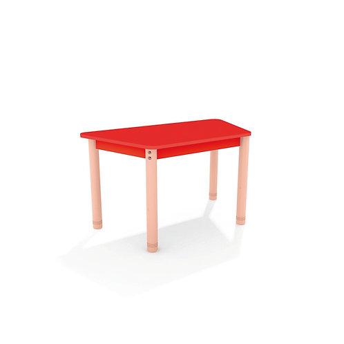 Trapecveida galds ar krāsainu virsmu - 4 krāsas