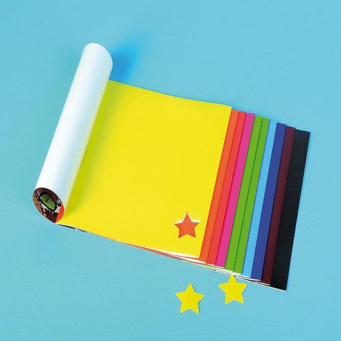 A4 krāsainais bloks 20 lpp. krāsaina papīra TM2031