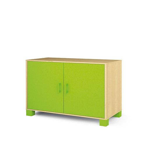 """Vidējā kumode ar durvīm """"Svaigi zaļa"""" NM2012"""