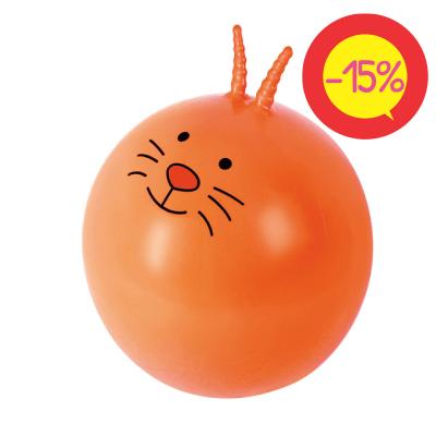 """Nowa Szkola Lēkājamā bumba """"Kaķis"""" Ø 66cm LG0566"""