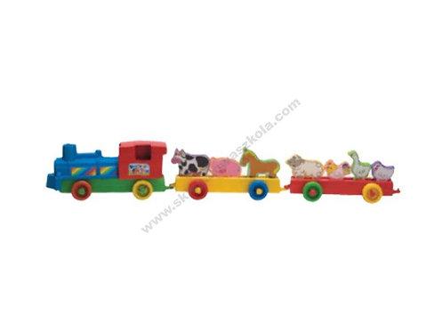 Fermas Dzīvnieku Vilciens FT5913
