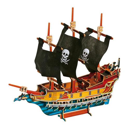 3D pirātu kuģis 1404