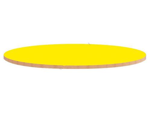 Apļveida krāsainas galda virsmas Ø90cm