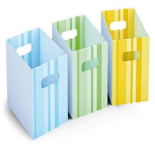 "Kartona kaste ""Zaļa"" 1 gb. 24x24x35 cm NS1784"