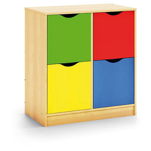"Kumode ar durtiņām ""Maxi color"" NS0215"
