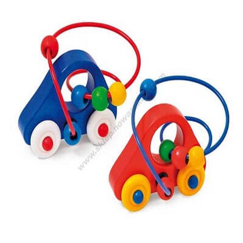 Koka automašīna ar labirintu EO0104