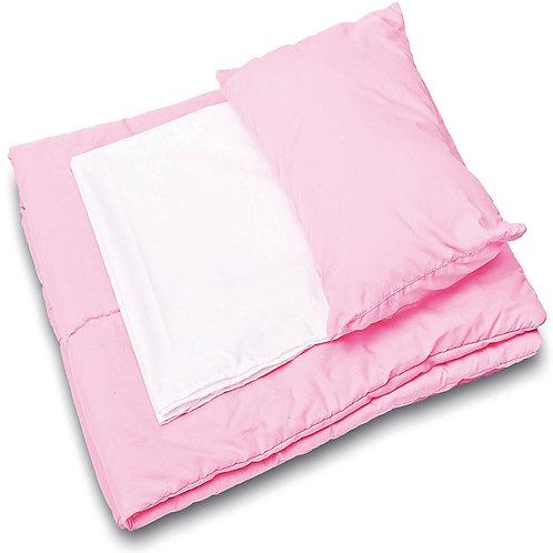 Rozā gultas veļas komplekts NS0644
