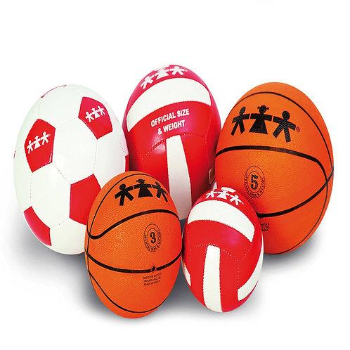 Volejbola bumba 4. izmērs Ø 62 - 64 cm VO0006