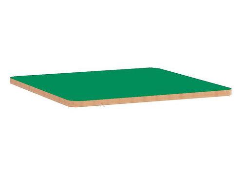 Kvadrātveida krāsainas galda virsmas 75x75cm