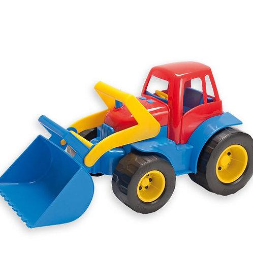 Traktors ar frontālo iekrāvēju 30x15x16 cm DK2129