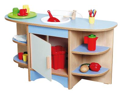 "Nowa Szkola Rotaļu mēbele ""Zilā virtuve"" NS0287"