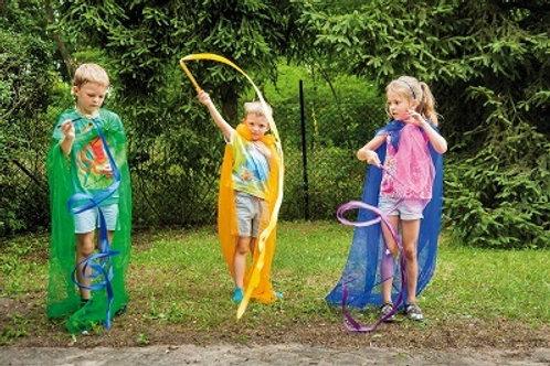 Krāsainas Bērnu Vingrošanas Lentes 2m 6 gb. TY0105