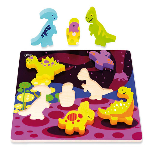 """Koka 3D puzle """"Dinozauri"""" 30x20cm 7 gb. CI3552"""