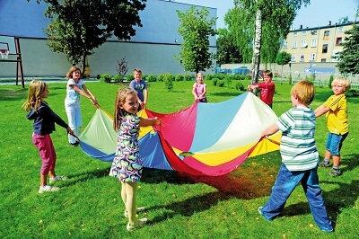 Bērnu Rotaļu Izpletnis Ø 6 m JG2304