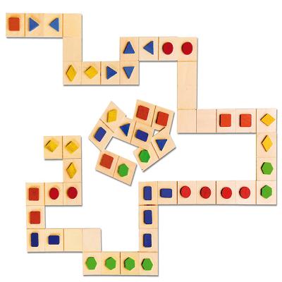 Nowa Szkola Koka ģeometrisko formu domino EN3103