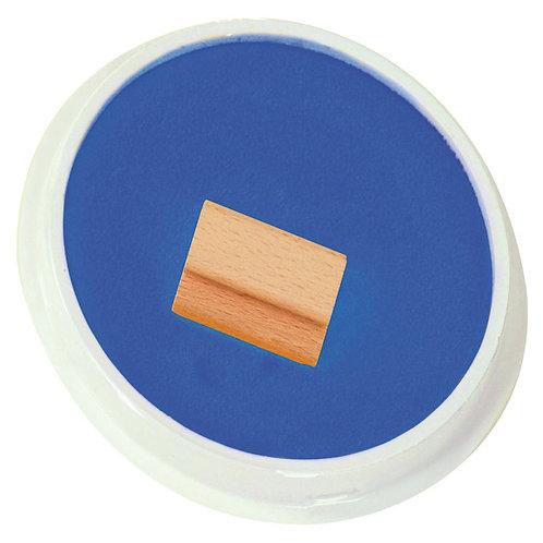 Tintes spilventiņš - zils Ø15cm AP0488
